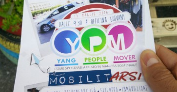 Cleanap incontra a Prato Yang People Mover